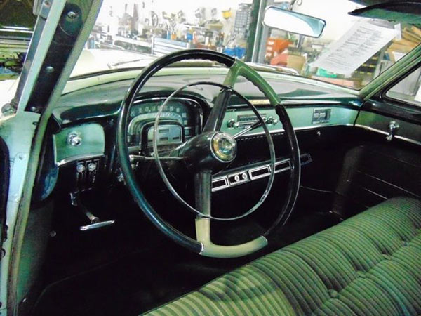 1953 Cadillac 62 Coupe, Interior