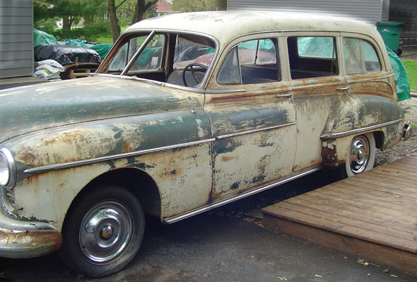 1950 Oldsmobile 88 Station Wagon