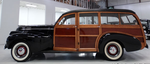 1940 Oldsmobile Series '70' Woodie
