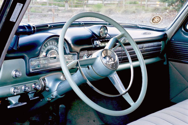 1952 Oldsmobile 98 4Dr Sedan Dashboard