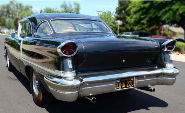 1957 Oldsmobile 88 2Dr Sedan Rear
