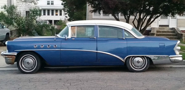 1955 Buick Roadmaster 4Dr Sedan