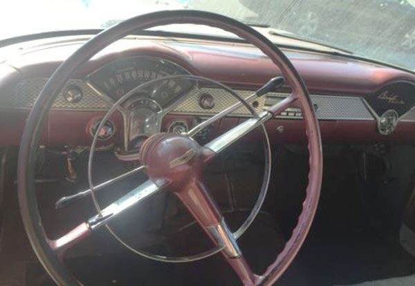 1955 Chevrolet Bel Air Original Dashboard