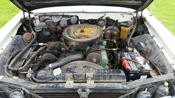 1962 Buick Electra 225 Engine