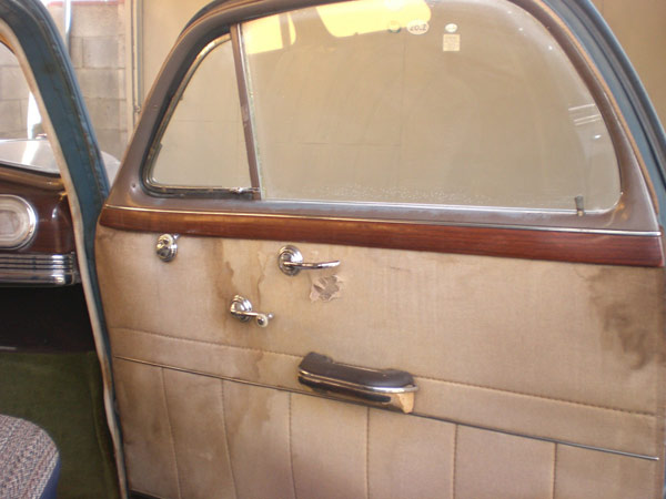 1946 Oldsmobile 66, Original Door Panel