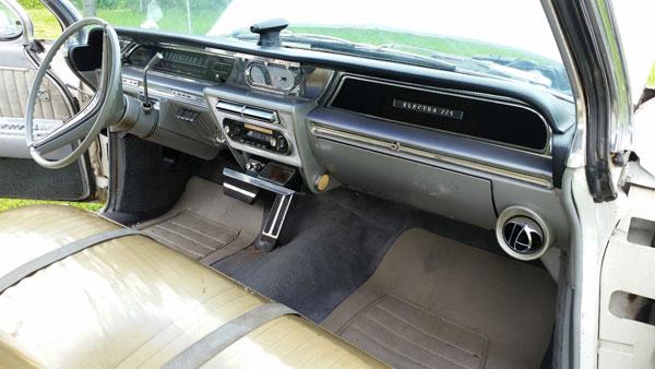 1962 Buick Electra 225 Original Dashboard