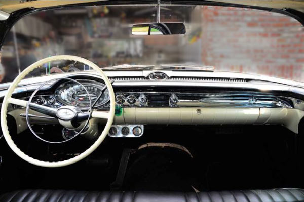 1957 Oldsmobile 88 2Dr Sedan Dashboard