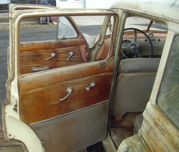 1950 Oldsmobile 88 Station Wagon Wooden Interior