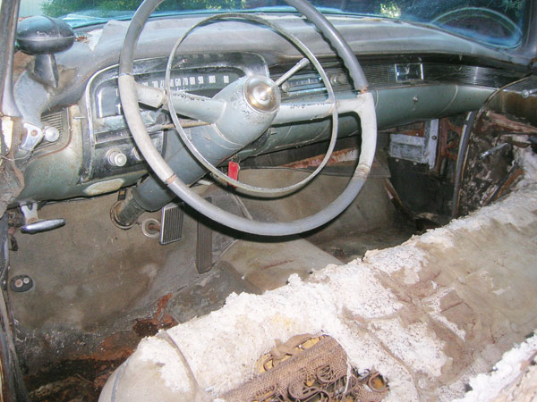 1954 Cadillac 62 Coupe Original Dashboard with Autronic Eye