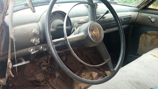 1950 Oldsmobile 98 4Dr Sedan Dashboard