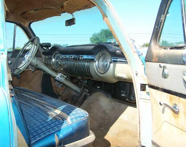1953 Oldsmobile 98 4Dr Sedan Original Dash