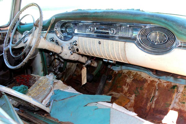 1956 Oldsmobile 98 Holiday Original Dash