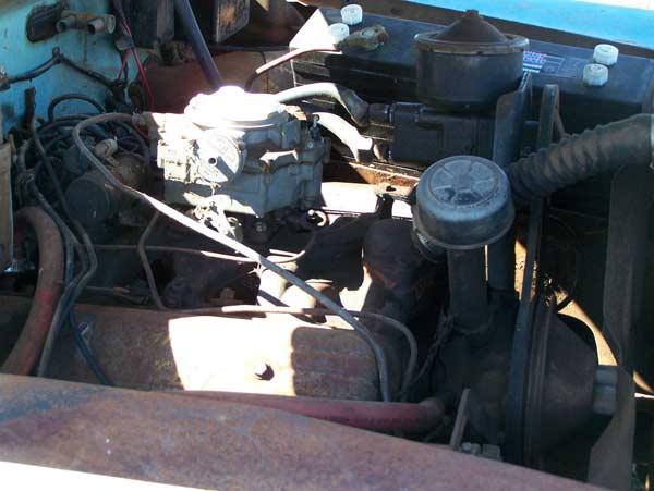 1953 Oldsmobile 98 Original Rocket Engine