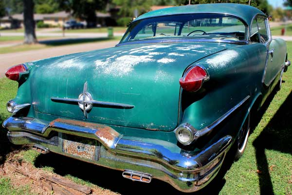 1956 Oldsmobile 98 Holiday Rear