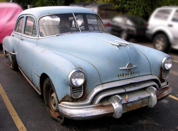 1950 Oldsmobile 76 4Dr Sedan